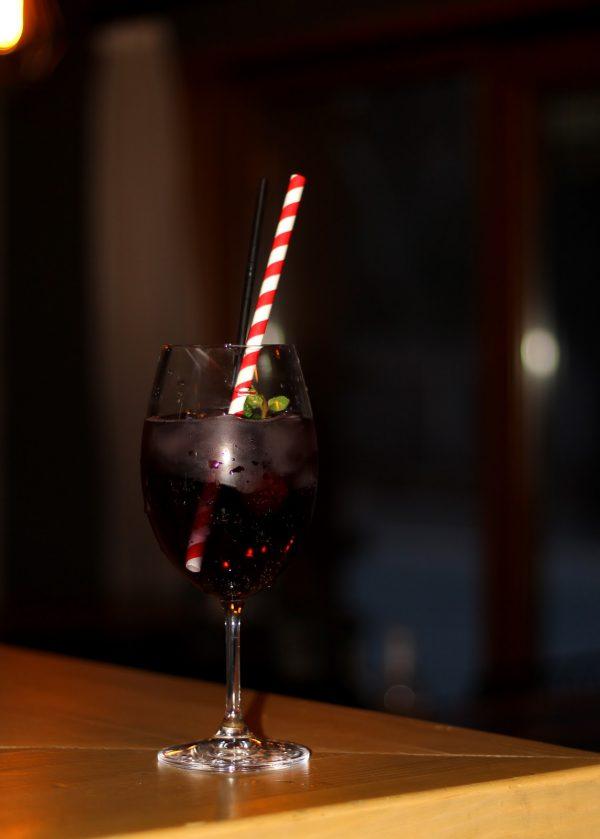 Чаша Кристалин вино